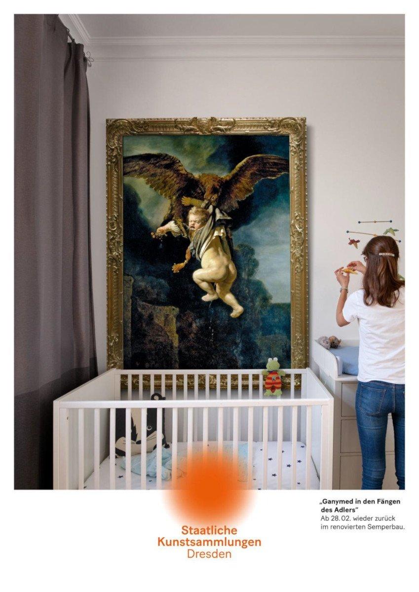 Plakadiva Gold - Kunstsammlungen Dresden Meisterwerke@Home (Foto: FAW)
