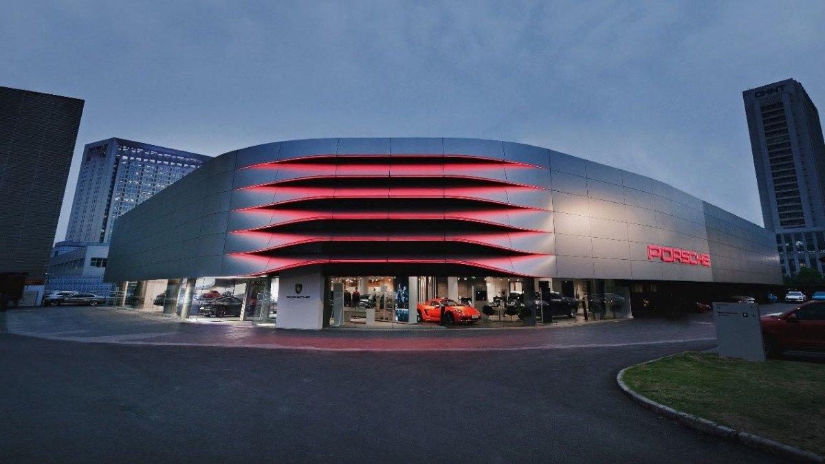 Porsche Zentrum wird moderner Treffpunkt (Foto: Porsche)