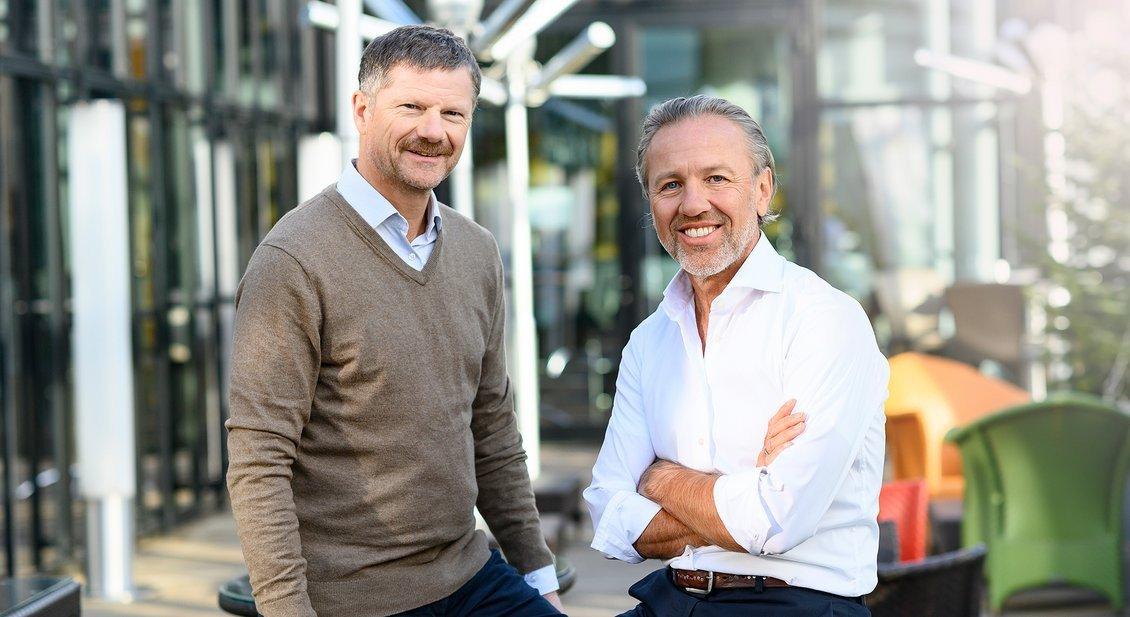 Feratel Vorstand Dr. Markus Schröcksnadel und Dr. Ferdinand Hager (Foto: Feratel)
