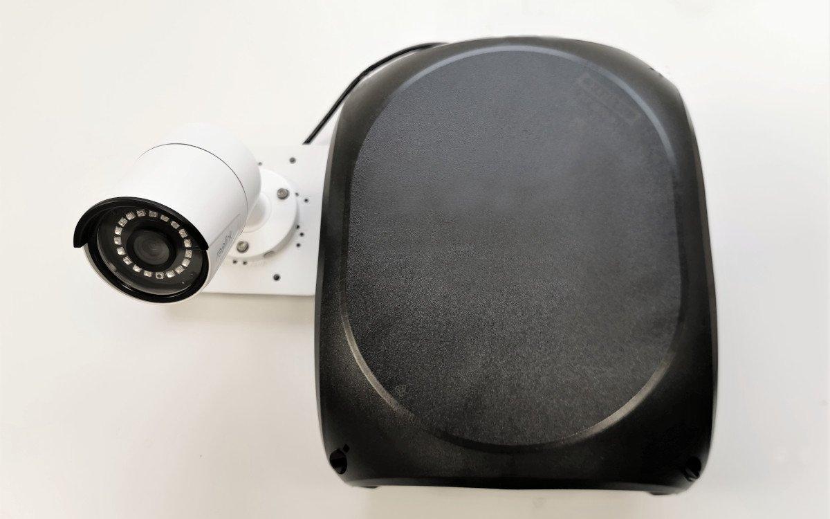 CCTV mit Swarm-Box (Foto: Swarm)