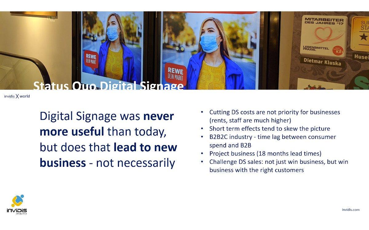 invidis happy hour - Digital Signage war noch nie nützlicher (Foto: invidis)