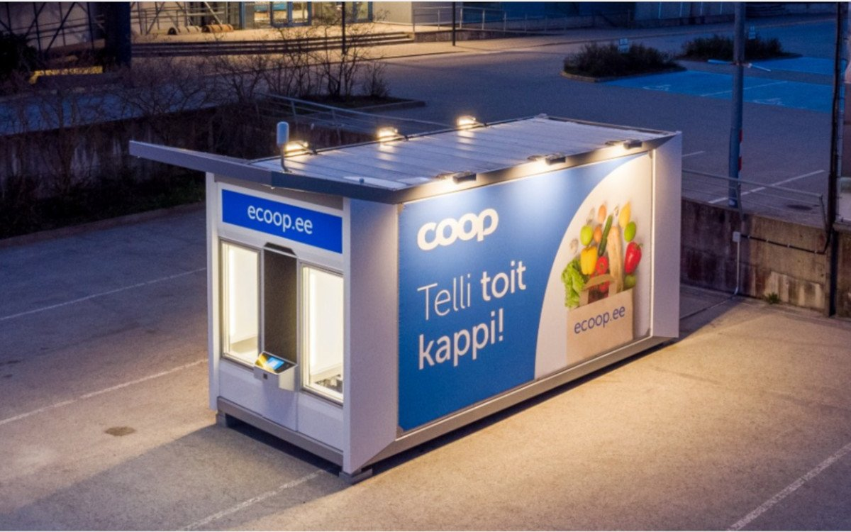 Supermarkt in a Box (Foto: Cleveron)