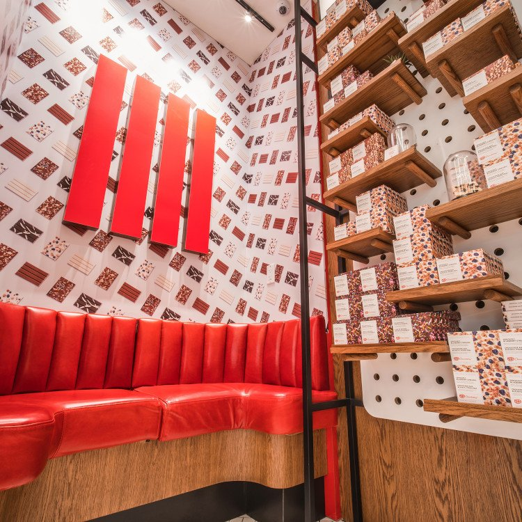 Story Telling in der Kitkat Chocolatory Toronto (Foto: Michael Rogers/Dolce Media Group)