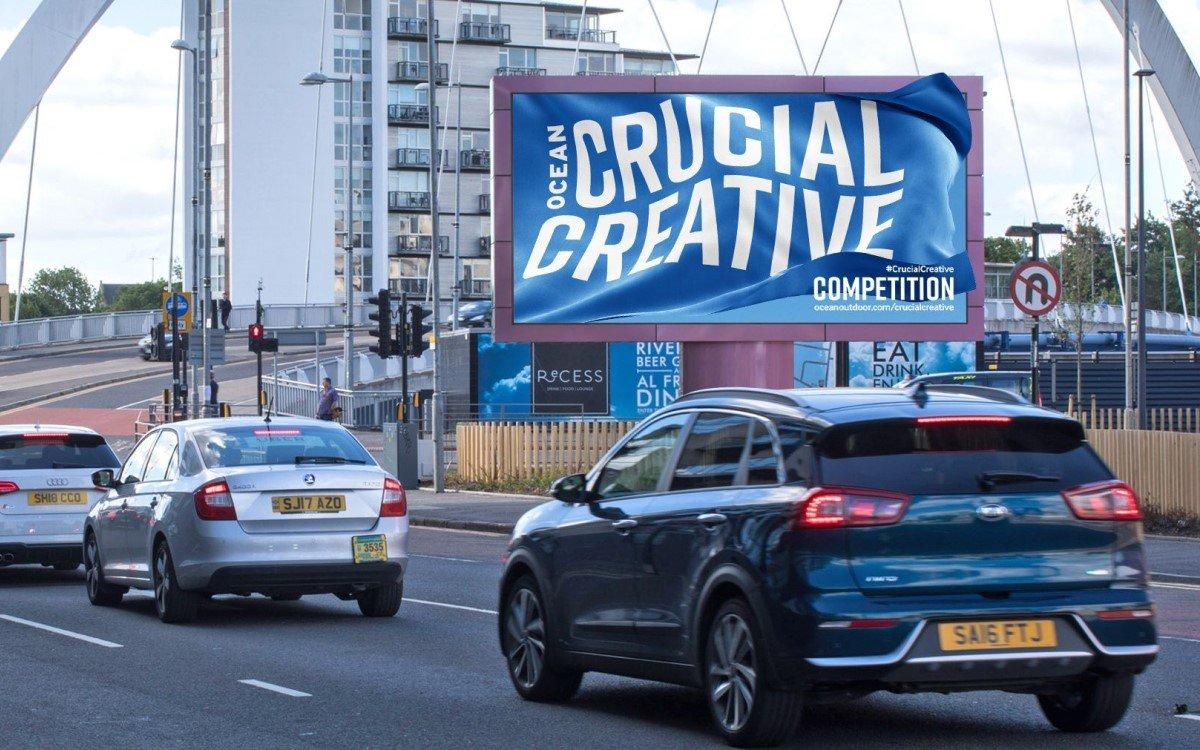 """Die """"Crucial Creative Competition"""" von Ocean Outdoor mit 1 Mio. Pfund Preisgeld soll Agenturen und Werbetreibende aus dem Corona-Winterschlaf holen und zu neuen kreativen Ideen anregen (Foto: Ocean Outdoor)"""