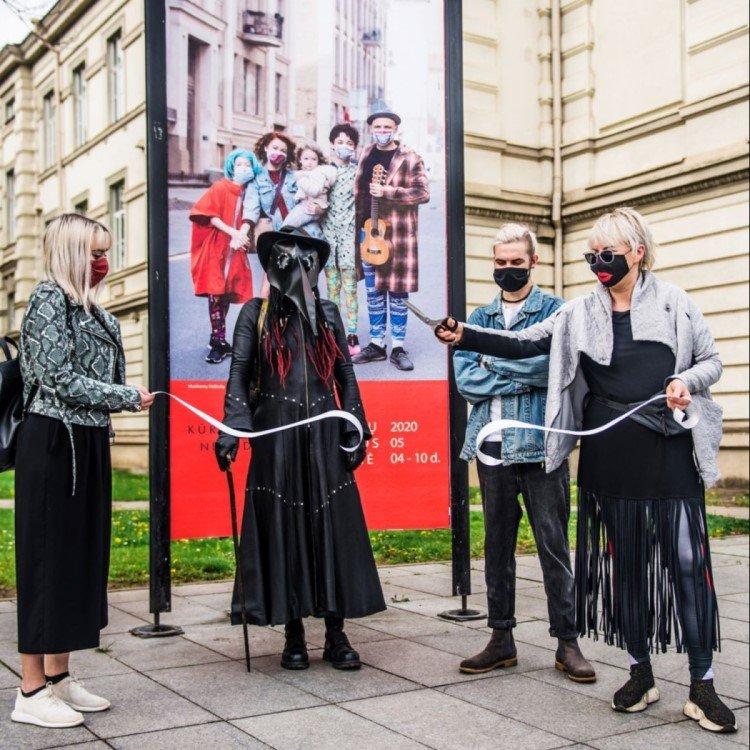 Eröffnungszeremonie der Mask Fashion Week in Vilnius (Foto: Go Vilnius)