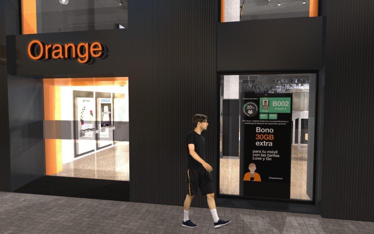 Orange führt in seinen Stores Digital Signage-basierte Access-Control von Altabox | Econocom ein (Foto: Altabox)