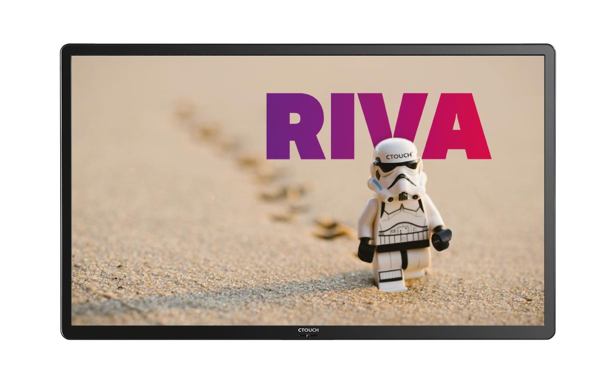CTouch präsentiert seine neue Touch-Plattform RIva (Foto: CTouch)