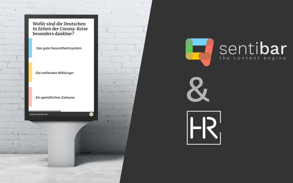 HR Infotainment bietet künftig auch den Umfrage-Content von Sentibar an (Foto: Sentibar)