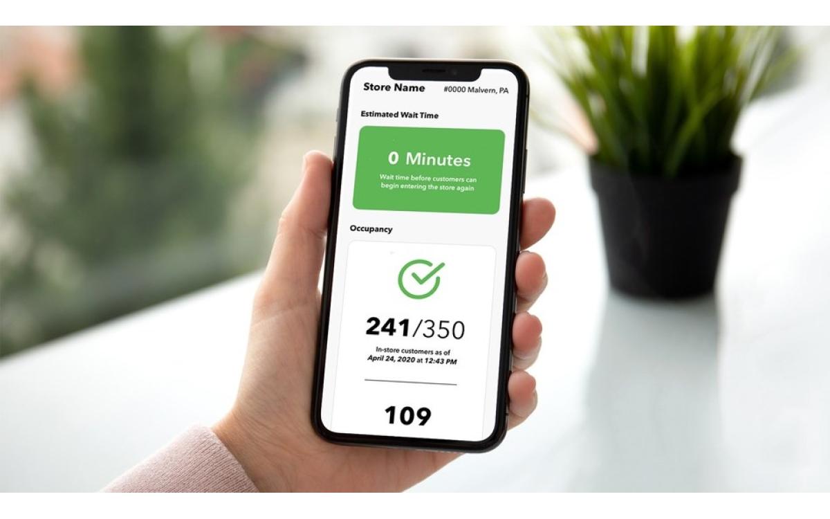 IntelliCount von Stratacache liefert Access-Control im übersichtlichen Dashboard aufs Handy, Tablet oder Digital Signage Display (Foto: Stratacache)