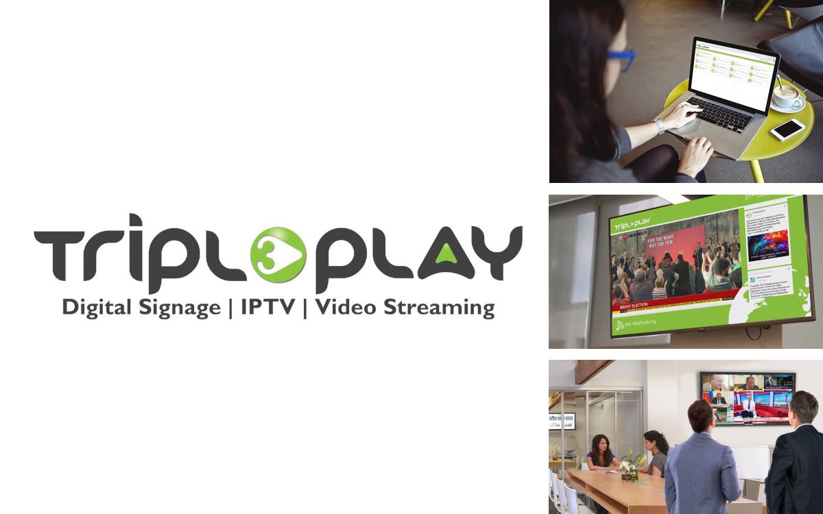 Digital Signage- und IPTV-Plattform Caveman 3.0 von Tripleplay wartet mit neuen Funktionen auf (Foto: Tripleplay)