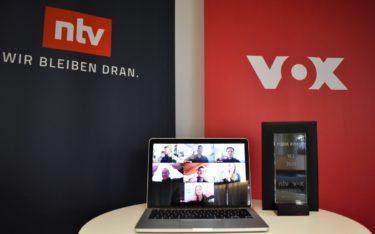 Gestern verliehen Goldbach, n-tv, VOX und Immaculix zusammen mit der Non-Profit-Organisation YES den YES Media Award für Nachwuchsunternehmen – wegen Corona zum ersten mal digital (Foto: Goldbach)