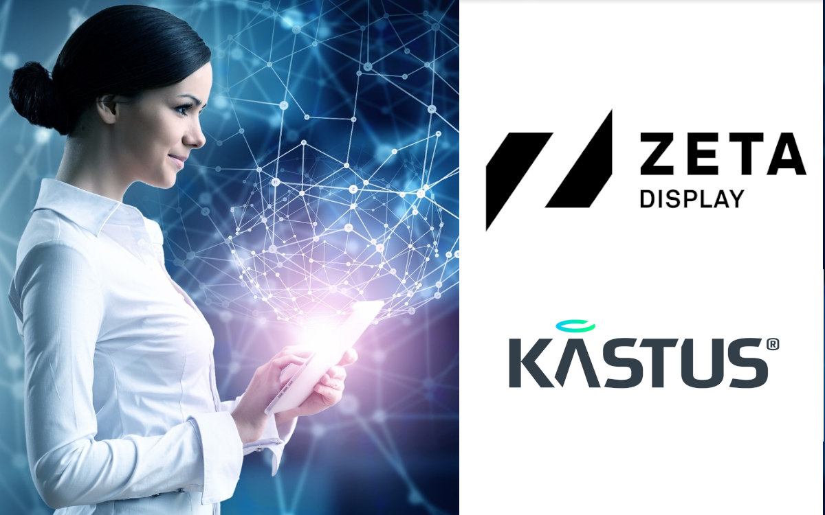 ZetaDisplays bietet künftig die antimikrobielle Beschichtung von Kastus für seine Displays und Touchscreens an (Foto: ZetaDisplays/Kastus)