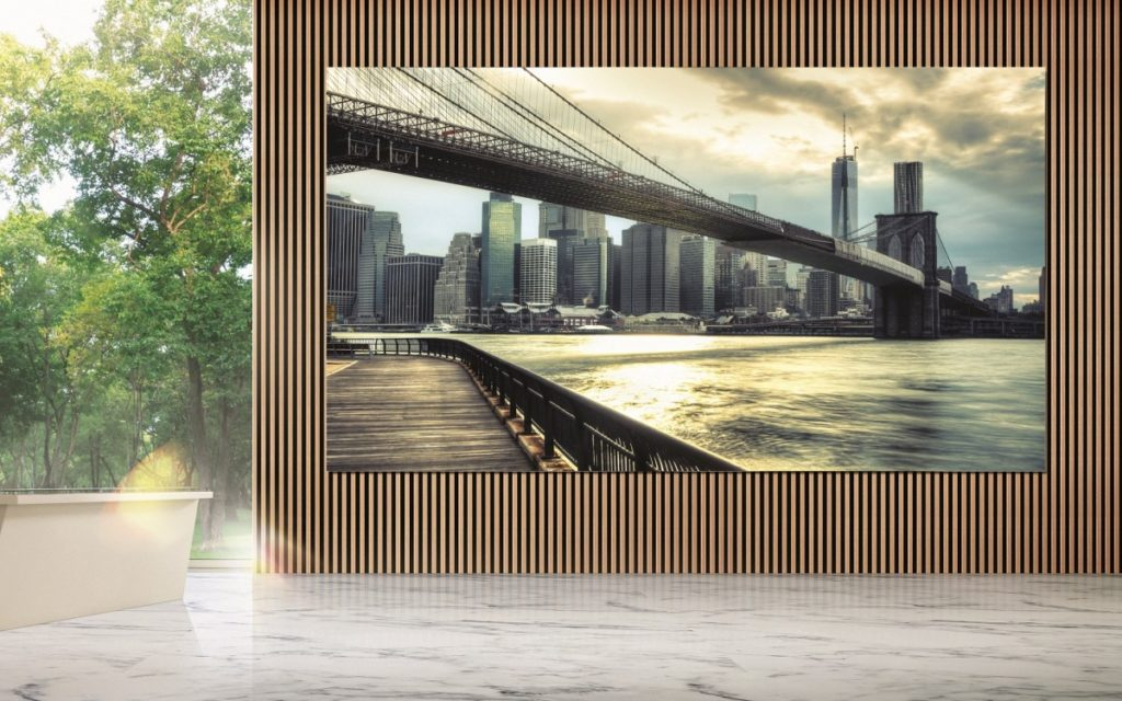 "Samsung ""The Wall for Business"" (Foto: Samsung)"