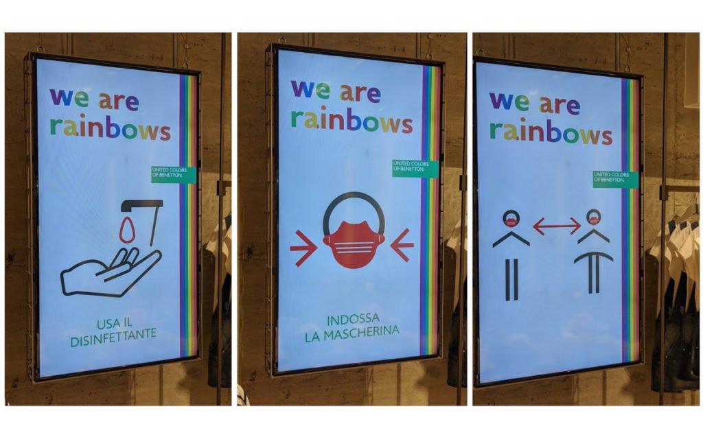 "Benetton ""We are Rainbows"" Kampagne (Foto: invidis)"