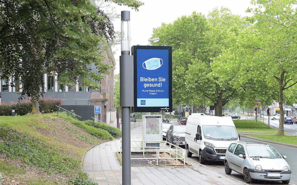 Smart Poles von E.On in Essen (Foto: E.On)