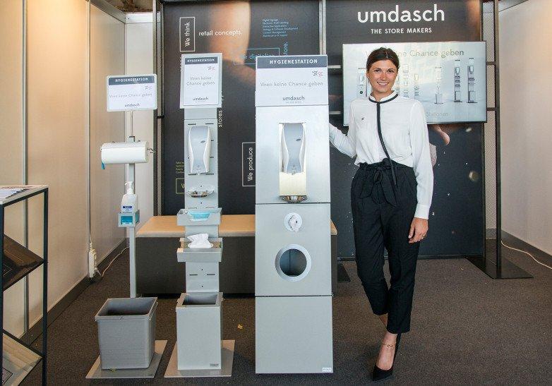 Umdasch Corona-Lösungen (Foto: Umdasch)