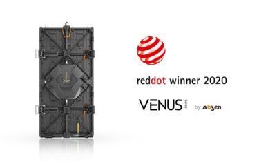Die Venus-Serie von Absen speziell für Rental-Staging gewinnt den Red Dot Design-Award (Foto: Absen)