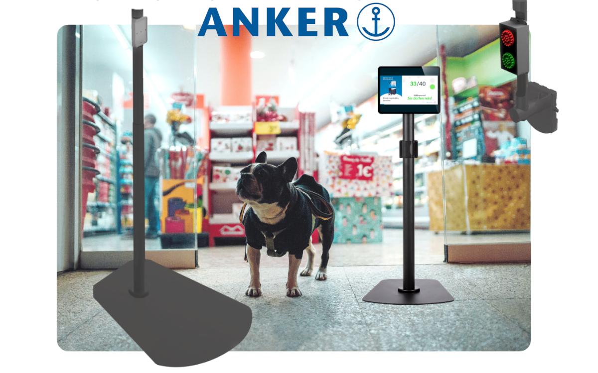 Anker Poles treffen Conrads IoT-Plattform – Die beiden Unternehmen bieten gemeinsam eine neue Access-Control-Lösung an (Foto: Anker Kassensysteme)