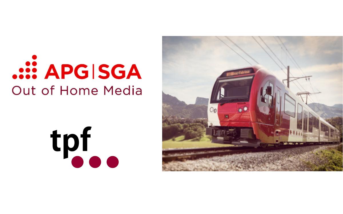 Die APG SGA vermarktet auch weiterhin die Werbeflächen der FreiburgischenVerkehrsbetriebe TPF (Foto: APG SGA/TPF)