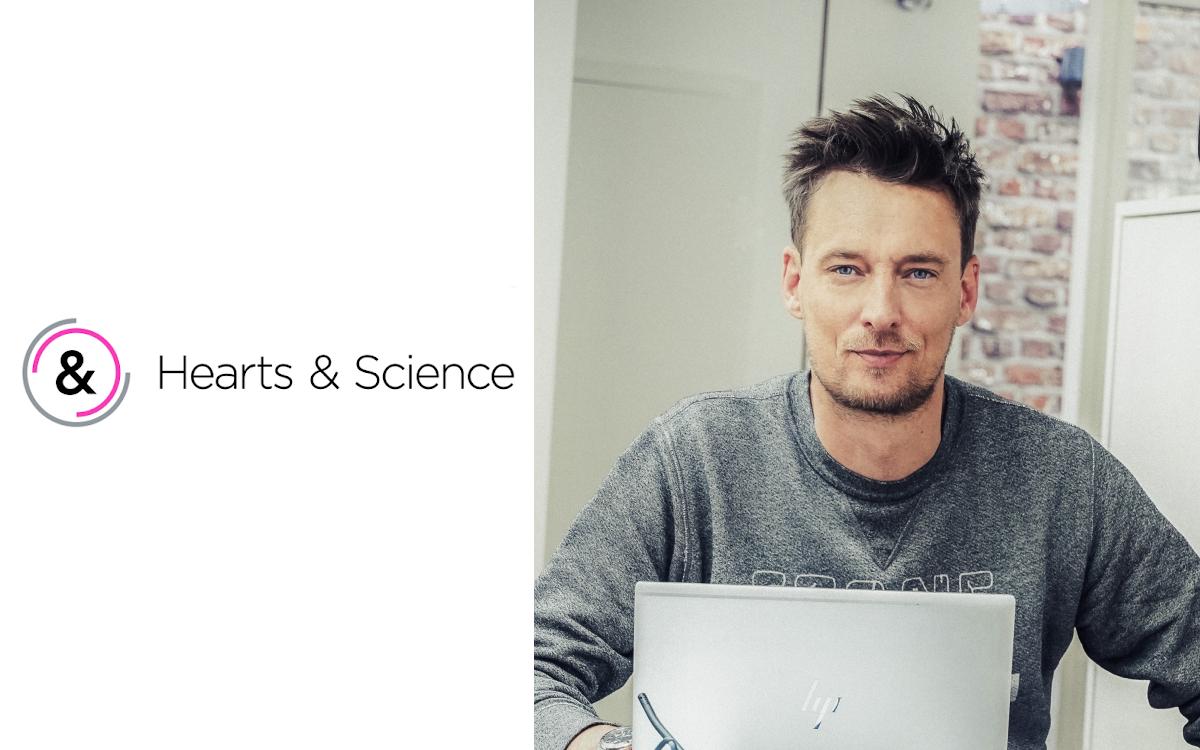 Dominik Scholta wird neuer CEO der Hearts & Science Agentur für datenzentriertes Marketing (Foto: Omnicom)