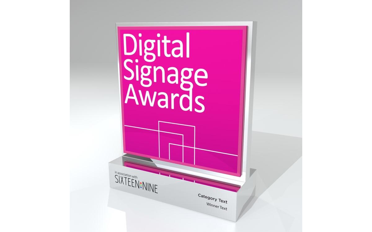 Werden 2021 im Rahmen der ISE in Barcelona verliehen: die Digital Signage Awards (Foto: Digital Signage Awards)
