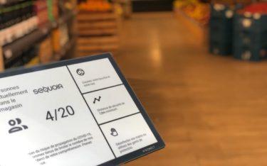 Visionect stellt eine Access-Control-Llösung auf Basis kostengünstiger und ernergiesparsamer ePaper-Displays vor (Foto: Visionect)