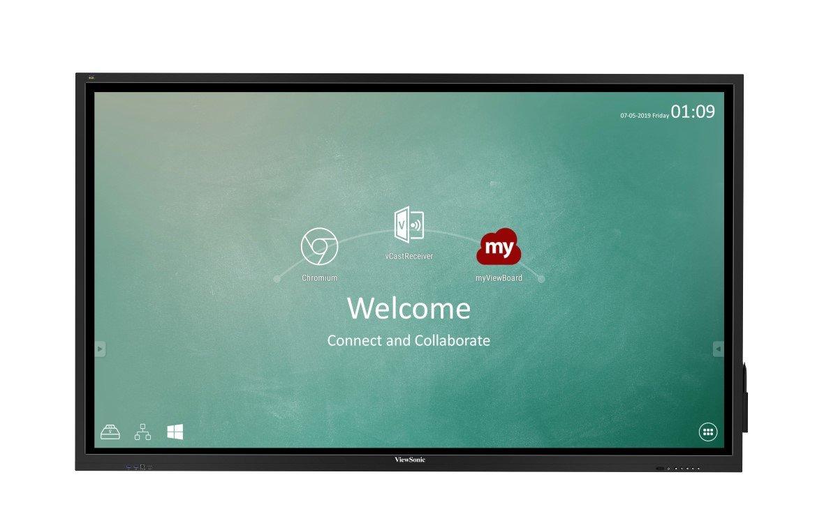 """Das ViewBoard IFP8630 für Meetingräume und Klassenzimmer verfügt über ein 86"""" 4K-Display mit UFT-Touch (Foto: ViewSonic)"""