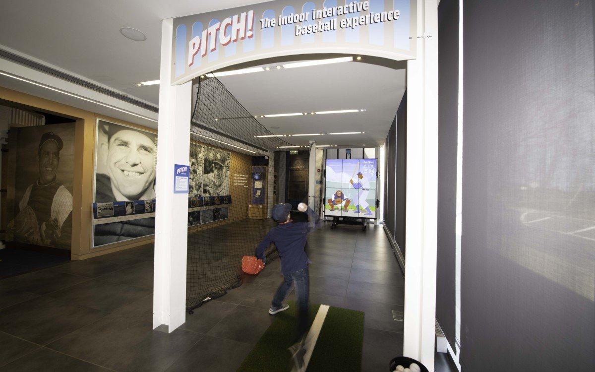 """PITCH!"" im Yogi Berra Museum auf dem Campus der Montclair State University in New Jersey (Foto: AVIXA)"