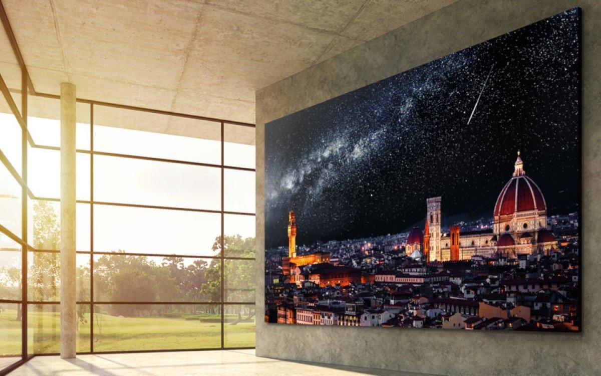 LG will bald seinen ersten microLED-Fernseher aus 640x360 Tiles auf den Markt bringen (Foto: LG Electronics)