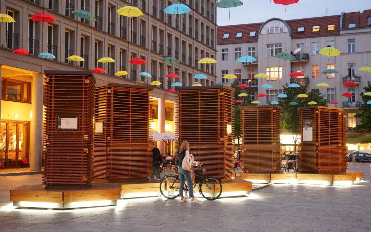 Green City Solution am Walter-Benjamin-Platz in Berlin (Foto: GCS / Peter Puhlmann)