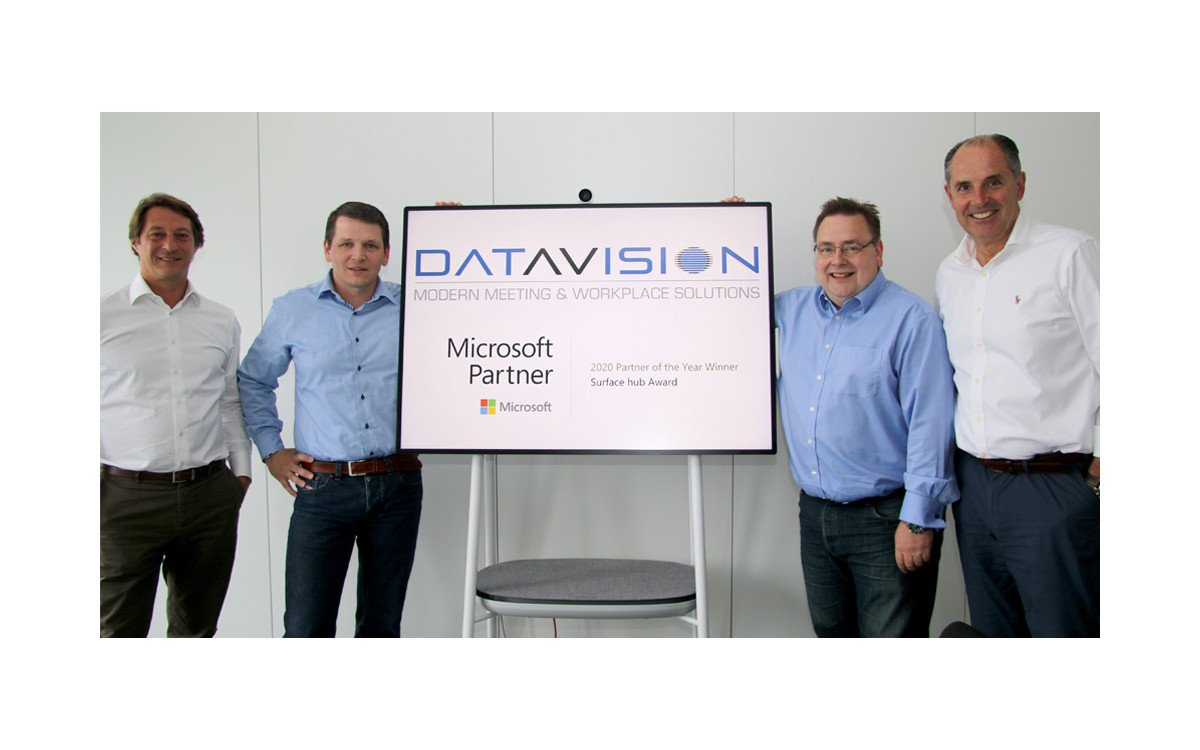 Datavision ausgezeichmet als Microsoft Surface Partner des Jahres (Foto: Datavision)