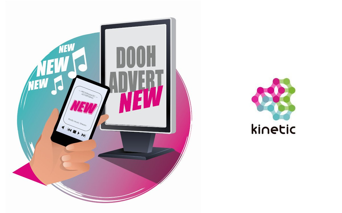 Kinetic kombiniert DooH und Audio (Foto: Kinetic)