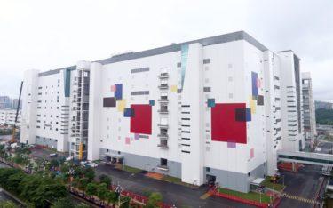 LGs neue Panel-Fabrik in Guangzhou, China (Foto: LG)