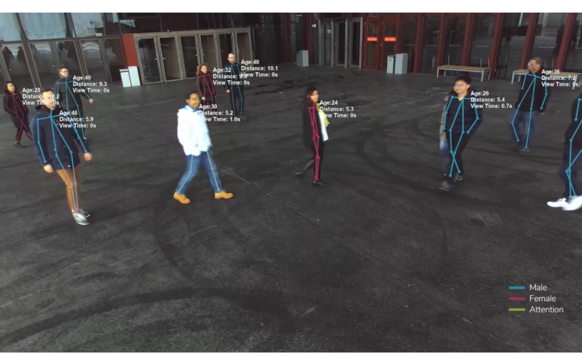 Advertima setzt mit 3D Computervision neue Maßstab für die Messung von Digital Signage-Publikum (Foto: Advertima)