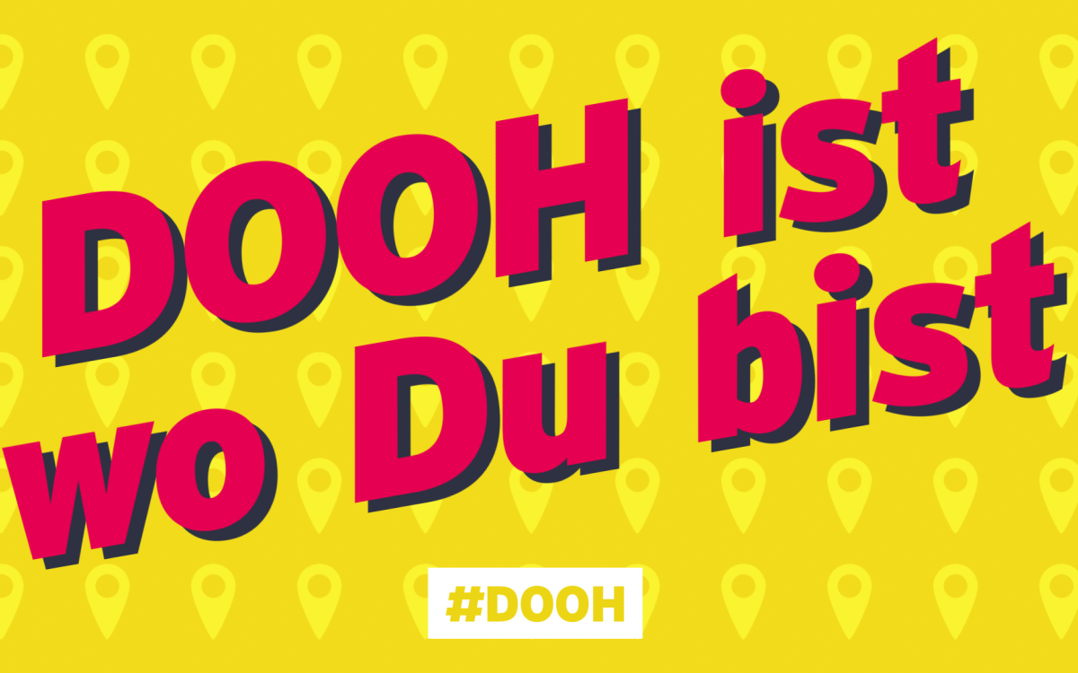 Motiv der DooH-Sommerkampagne auf Initiative des DMI (Foto: DMI)