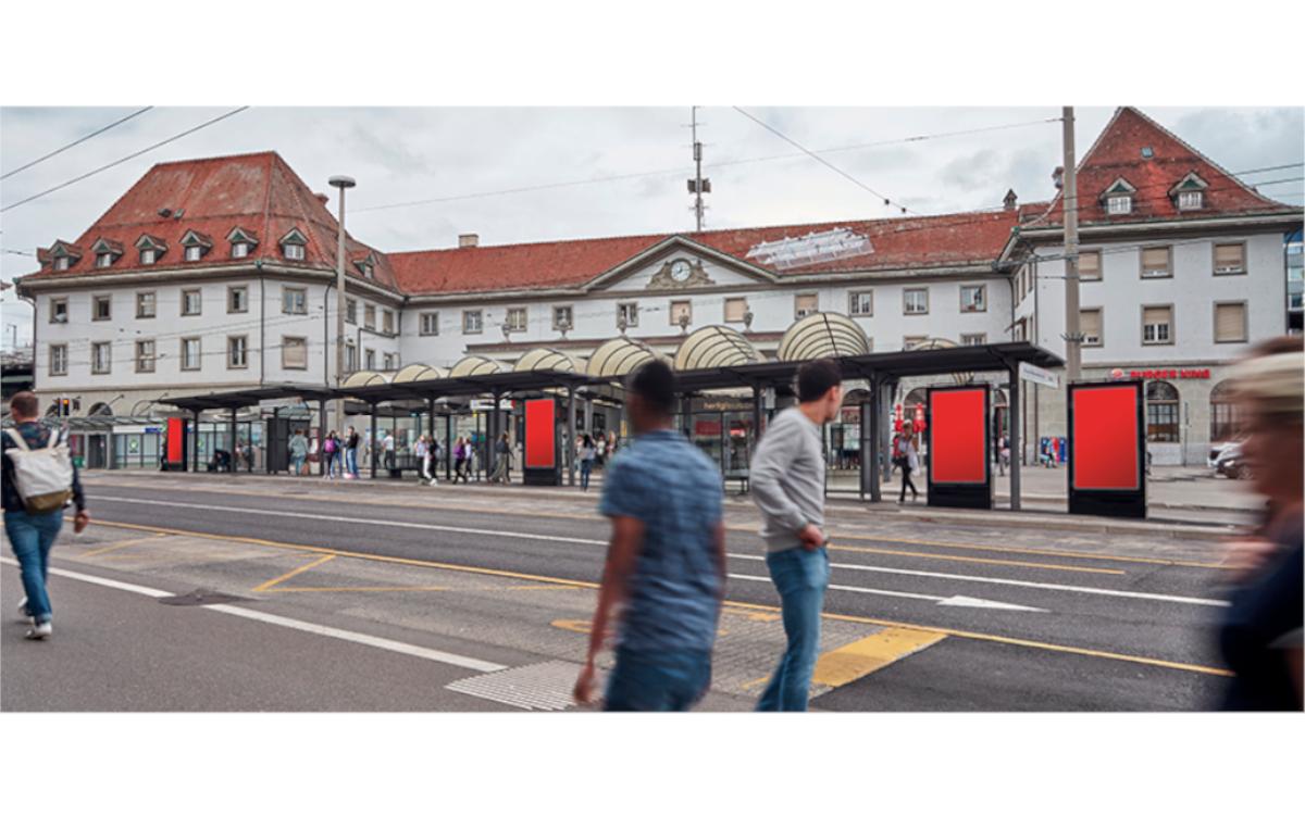Außenwerber APG SGA installiert zwölf neue City ePanels in Freiburg (Foto: APG SGA)