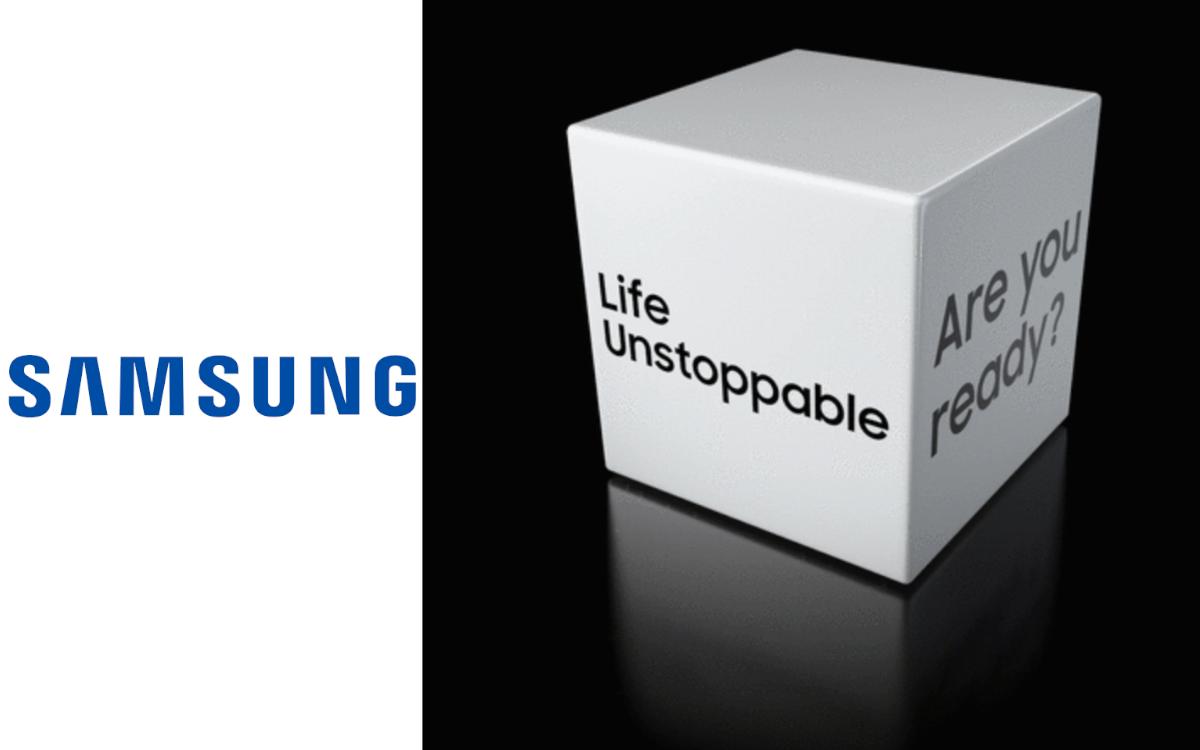 """Online-Event statt Messeauftritt: Samsung lädt am m 2. September 2020 zu """"Life Unstoppable"""", um seine neuesten innovationen vorzustellen (Foto: Screenshot/Samsung)"""