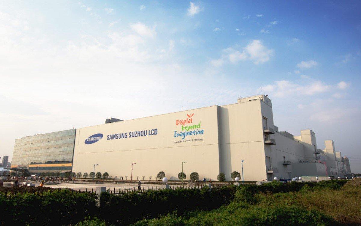 Suzhou LCD-Fabrik von Samsung Display (Foto: Samsung/Electronic Newspaper DB)