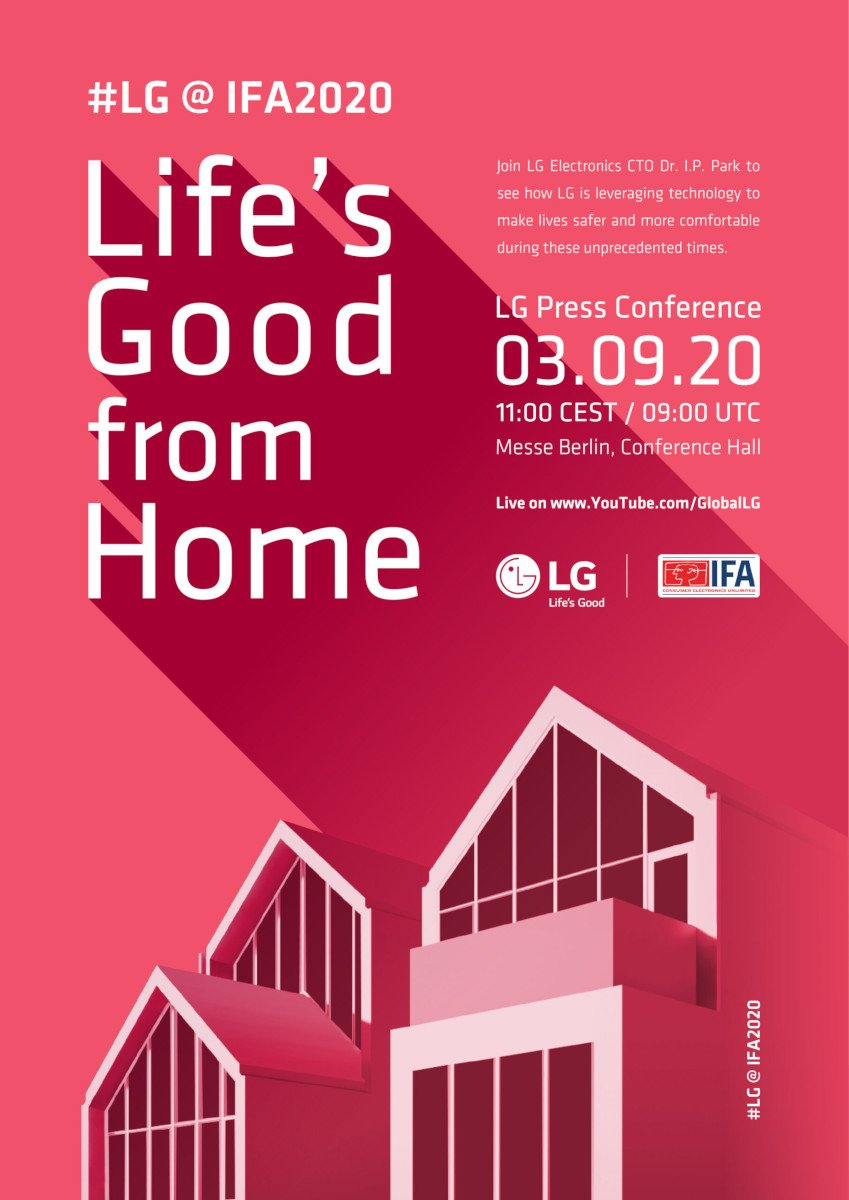 LG Life's good from home IFA 2020 (Foto: LG)