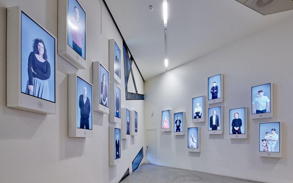 """Installation """"Mesubin"""" von Yael Reuveny und Clemens Walter (Foto: JMB/ Yves Sucksdorff)"""