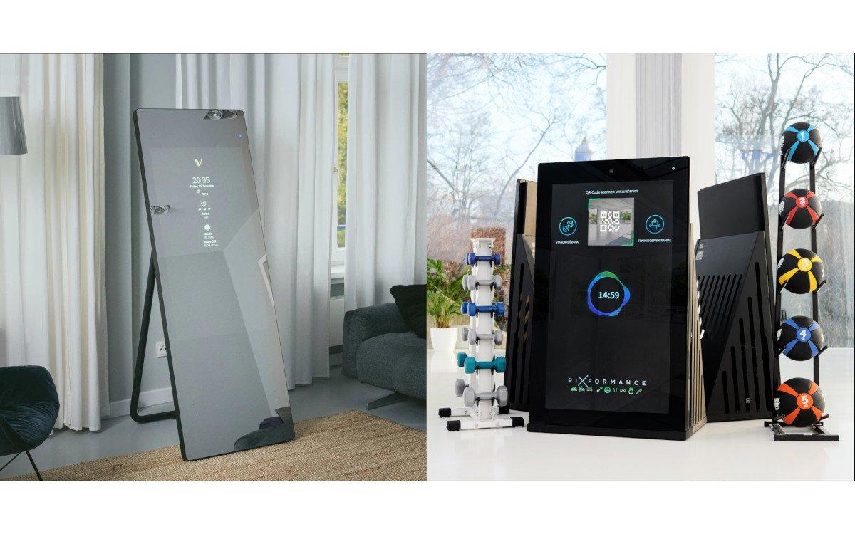Fitness Displays für daheim und im Studio (Foto: Vaha/Pixformance)