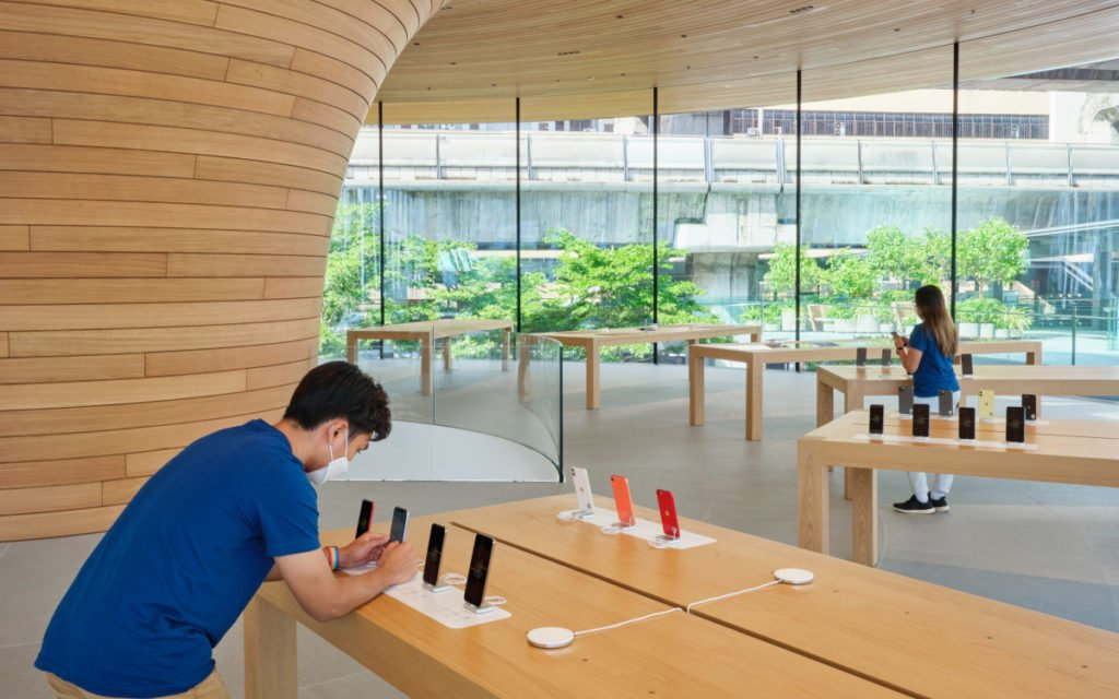 Apple Central World in Bangkok (Foto: Apple)