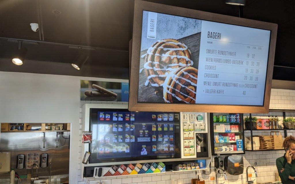 7Eleven Convenience Store mit Menüboard (Foto: invidis)