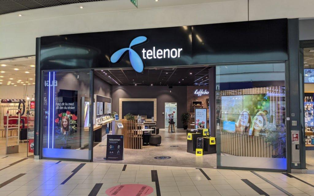 Telenor Store in Kopenhagen (Foto: invidis)
