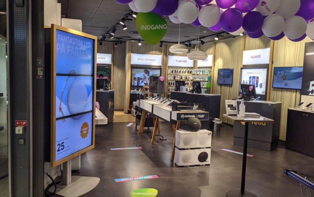 Telia Store in Kopenhagen (Foto: invidis)