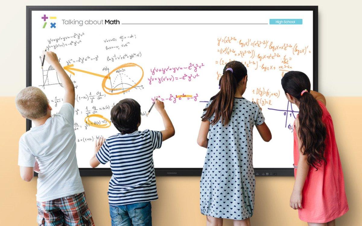 """Samsung Flip 85"""" zielt besonders auf den Educationmarkt (Foto: Samsung)"""