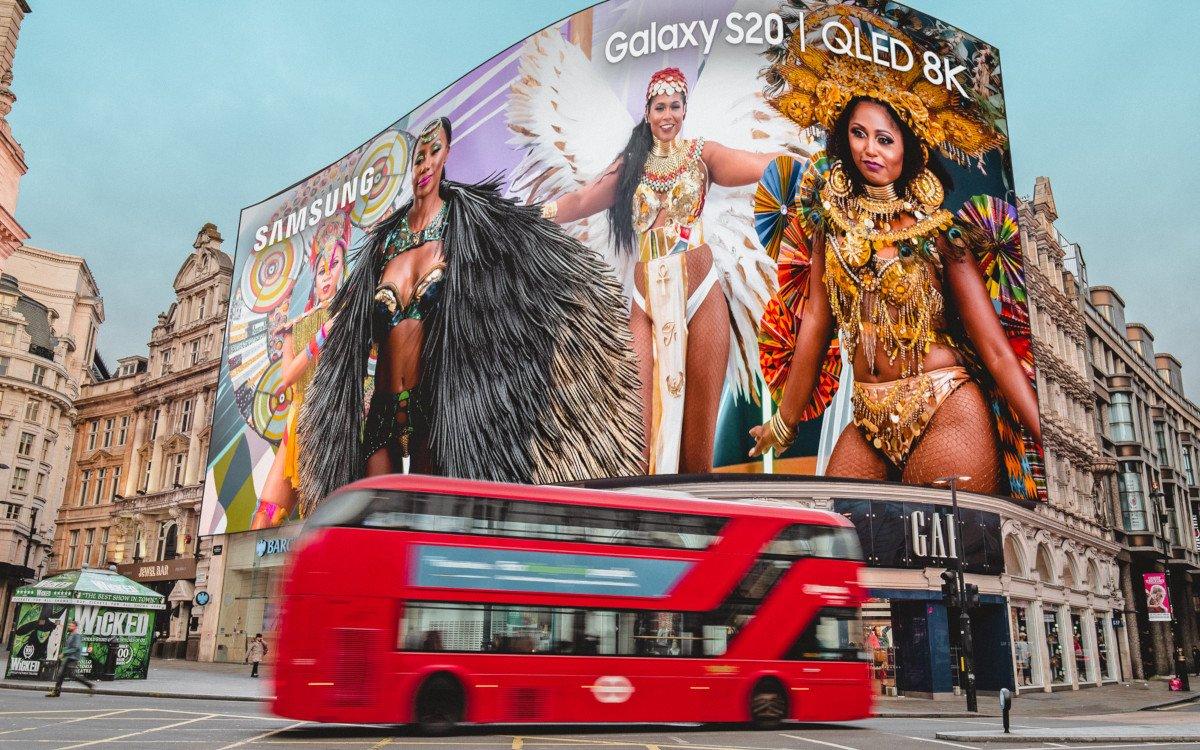 Samsung präsentiert Notting Hill Carnival in 8k (Foto: Samsung)