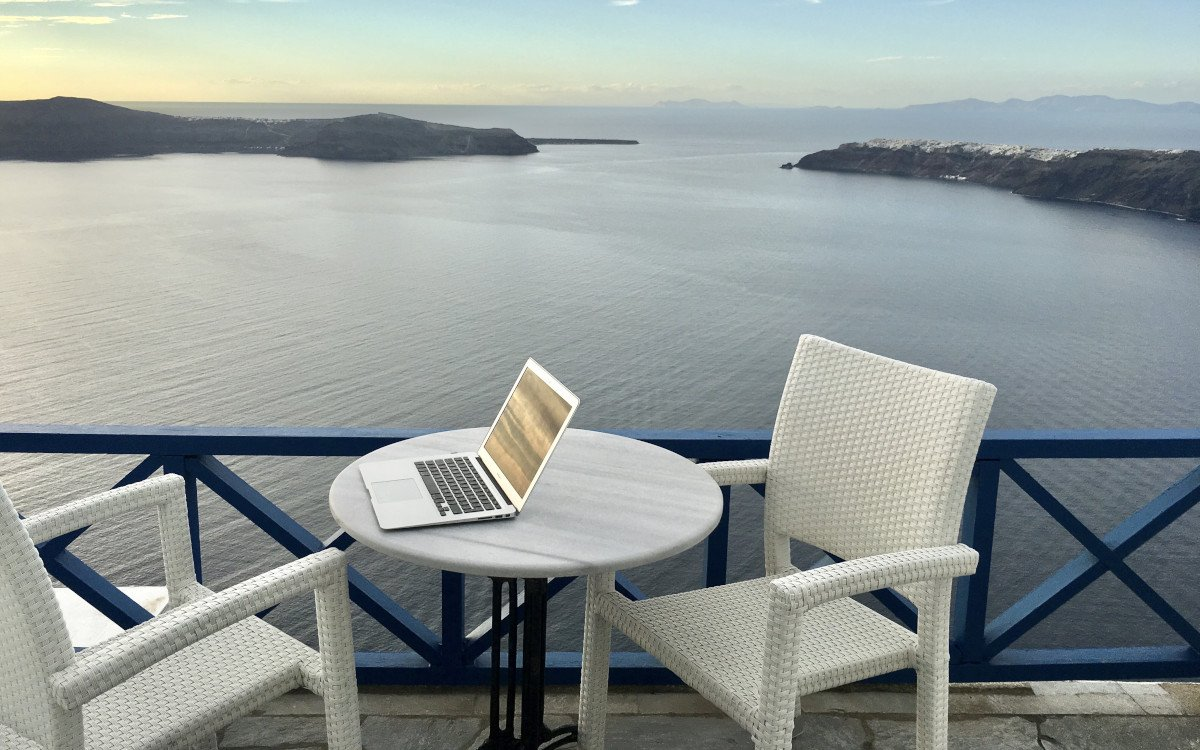 Home Office auf Lebenszeit (Foto: Holiday Pirates)