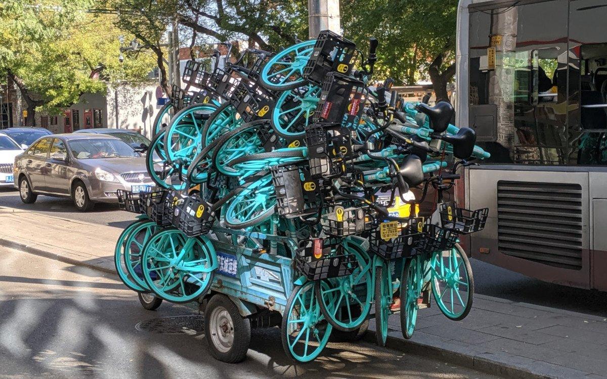 Made in China - Straßenszene in Peking (Foto: invidis)