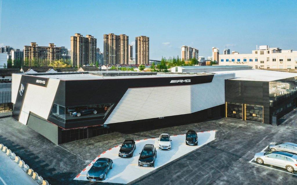 AMG Brandcenter in Shanghai (Foto: Daimler)